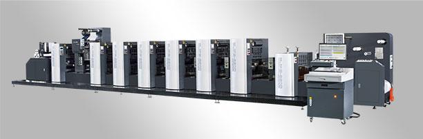 <b>WJPS-350D/450D/560D Shaftless Offset (Alcohol Dampening)  Intermittent Rotary Label Printing Machine</b>