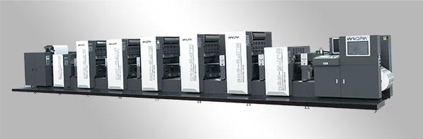 <b>WJPS-660 Shaftless Offset (Alcohol Dampening)  Intermittent Rotary Label Printing Machine</b>