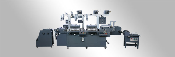 WJMQ-350 Double-Station Label Die-cutting Machine